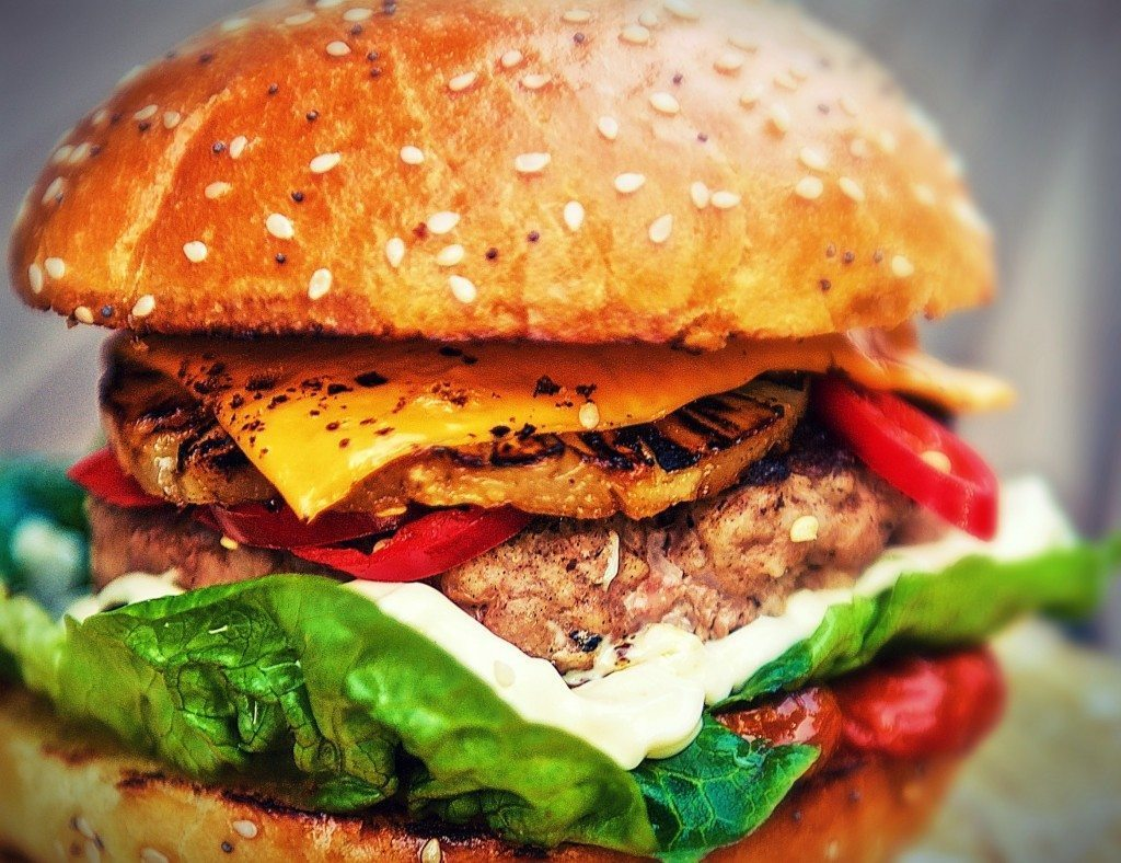 gourmet burgers at Butch Annie's